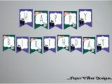 Happy Birthday Queen Banner Evil Queen Banner Birthday or Baby Shower by