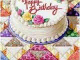 Happy Birthday Quilt Banner A Quilter 39 S Birthday Happy Birthday Birthday Cake