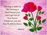 Happy Birthday Quote for A Sister Birthday Quotes for Sister Quotes and Sayings
