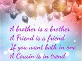 Happy Birthday Quote for Cousin Happy Birthday Wishes for Cousin Quotes Images Memes