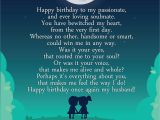 Happy Birthday Quote for My Husband Romantic Happy Birthday Poems for Husband From Wife