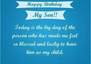Happy Birthday Quote for My son Happy Birthday son Quotes Images Pictures Messages
