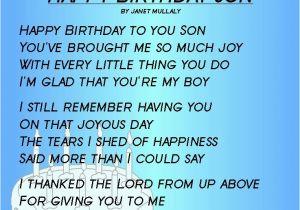 Happy Birthday Quote for My son Happy Birthday to My son Quotes Birthday Quotes