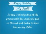 Happy Birthday Quote for son Happy Birthday son Quotes Images Pictures Messages