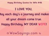 Happy Birthday Quote for Wife Happy Birthday Quotes for Wife Wowsayings 513814