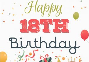 Happy Birthday Quotes 18 Year Old 18th Birthday Wishes For Son Or