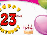 Happy Birthday Quotes 23 Years Old Wishes 23 Years with Wishes Happy Birthday Picture