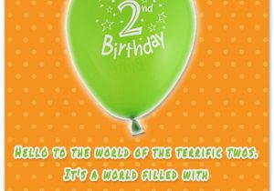 Happy Birthday Quotes for 2 Year Old Boy 2nd Birthday Wishes Baby Turns Two Wishesquotes