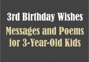 Happy Birthday Quotes For 3 Year Old Boy Turning Quotesgram