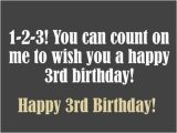Happy Birthday Quotes for 3 Year Old son Birthday Wishes for Three Year Old Happy Birthday