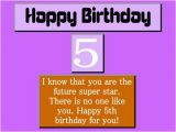 Happy Birthday Quotes for 5 Year Old son Best 5th Birthday Wishes Collections Hubpages