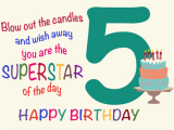 Happy Birthday Quotes for 5 Year Old son Fantastic Five Year Old Free for Kids Ecards Greeting