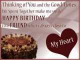 Happy Birthday Quotes for A Close Friend Greeting Birthday Wishes for A Special Friend This Blog