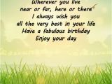 Happy Birthday Quotes for A Friend Far Away Happy Birthday Wishes From Far Away Occasions Messages