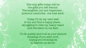 Happy Birthday Quotes for A Friend who Passed Away Birthday Quotes for someone Passed Quotesgram