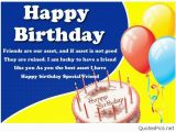 Happy Birthday Quotes for A Good Friend Best Friends Birthday Wishes Cards Quotes Images