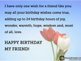 Happy Birthday Quotes for A Good Friend Happy Birthday Greetings Quotes Wishes for A Friend