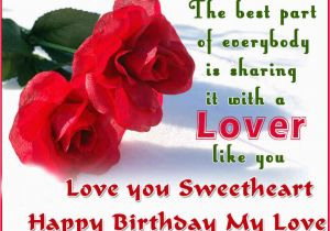 Happy Birthday Quotes for A Lover Birthday Wishes for Lover Photo and Birthday Messages