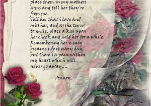 Happy Birthday Quotes for A Mother who Has Passed Away My Mother Passed Away Quotes Quotesgram