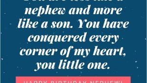 Happy Birthday Quotes for A Nephew Happy Birthday Nephew 35 Awesome Birthday Quotes He Will