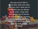 Happy Birthday Quotes for A Passed Loved One Best Happy Birthday In Heaven Wishes for Your Loved Ones