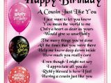 Happy Birthday Quotes for A Special Cousin Happy Birthday Poems for My Cousin 12 Happy Birthday