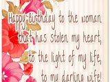 Happy Birthday Quotes for A Wife Birthday Wishes for Wife Romantic and Passionate