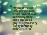 Happy Birthday Quotes for Best Person Wish You A Very Happy Birthday My Dear Friend Happy Birthday