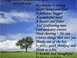 Happy Birthday Quotes for Big Brother From Sister so My Brother Love Him Poems Sister Poems Little