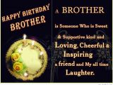 Happy Birthday Quotes for Brother In English Happy Birthday Brother 50 Brother 39 S Birthday Wishes