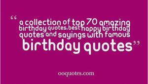 Happy Birthday Quotes for Celebrity Birthday Quotes by Famous People Quotesgram