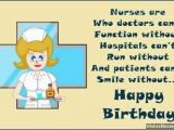 Happy Birthday Quotes for Doctors Birthday Wishes for Nurses Inspirational Birthday