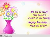 Happy Birthday Quotes for Family Members for A Special Family Member Free Extended Family Ecards