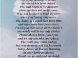 Happy Birthday Quotes for Father In Heaven Happy Birthday Dad In Heaven Quotes From Daughter Image
