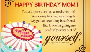 Happy Birthday Quotes for Friends Mom Happy Birthday Mom Quotes Quotes and Sayings