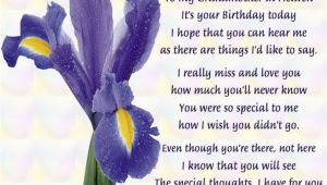 Happy Birthday Quotes for Grandma In Heaven Happy Birthday My Angel Grandmother In Loving Memory Rip