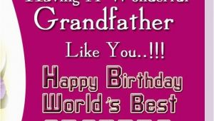 Happy Birthday Quotes for Grandpa Happy Birthday Grandpa Quotes Quotesgram