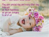 Happy Birthday Quotes for Little Girl Happy Birthday Quotes for Baby Girl Wishesgreeting