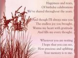 Happy Birthday Quotes for Mom In Heaven Happy Birthday Mom I Love You Miss You
