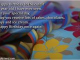 Happy Birthday Quotes for My 2 Year Old son Happy 2nd Birthday Baby Boy Quotes