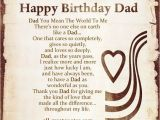 Happy Birthday Quotes for My Daughter From Dad Serious Dad Birthday Card Sayings Dad Birthday Poems