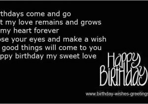 Happy Birthday Quotes for My Girlfriend Birthday Wishes for ...