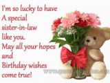 Happy Birthday Quotes for My Sister In Law Happy Birthday Sister In Law Quote Pictures Photos and