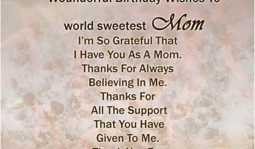 Happy Birthday Quotes for My son From Mom 41 Great Mom