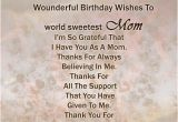 Happy Birthday Quotes for My son From Mom 41 Great Mom Birthday Wishes for All the sons who Want to