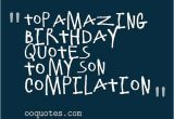 Happy Birthday Quotes for My son From Mom Birthday Quotes for son From Mom Quotesgram