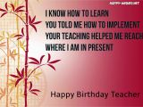 Happy Birthday Quotes for My Teacher Happy Wishes Quotes Images Memes Messages