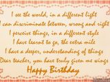 Happy Birthday Quotes for My Teacher Quotes or Poems for Teachers Quotesgram