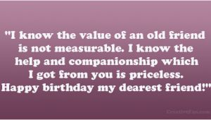 Happy Birthday Quotes for Old Friends Happy Birthday Old Friend Quotes Quotesgram