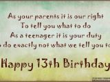 Happy Birthday Quotes for Parents 13th Birthday Quotes for Daughter Quotesgram